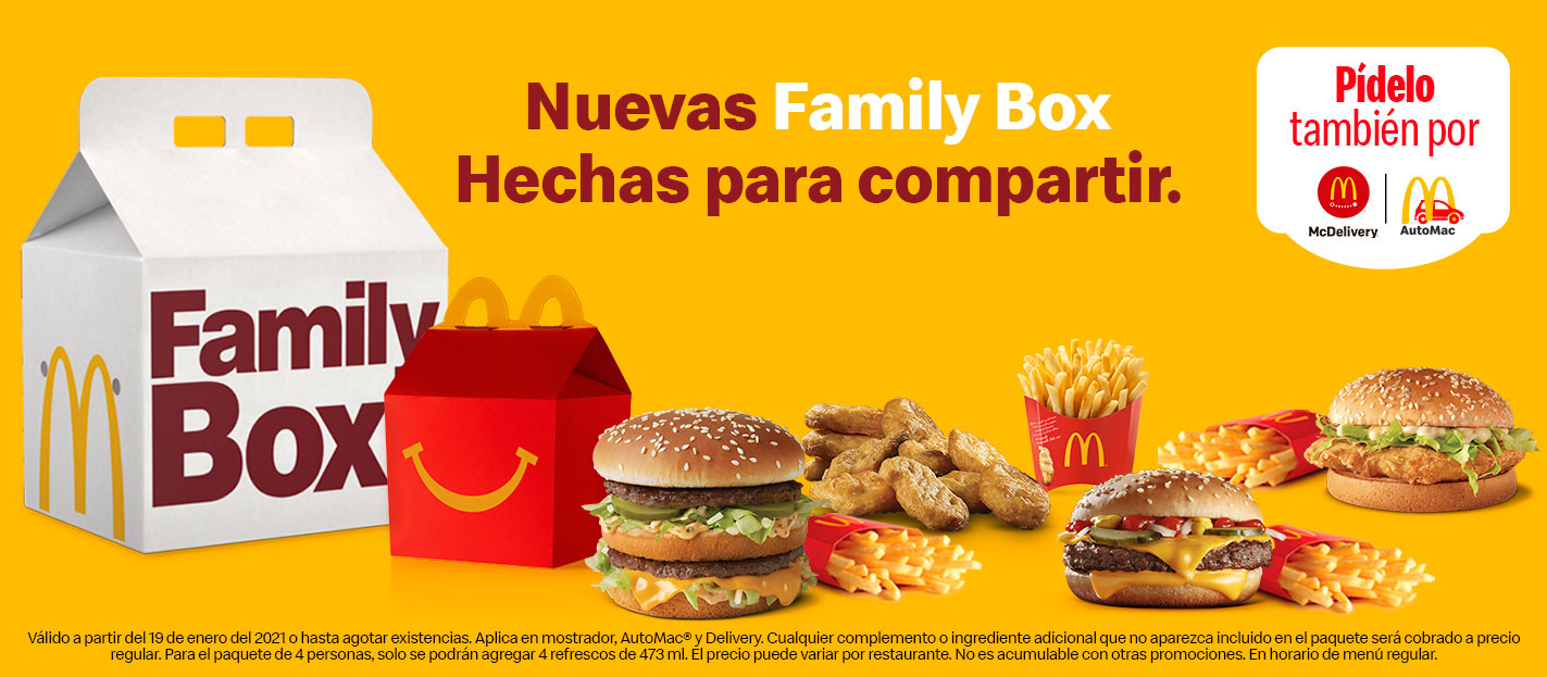 Family Box ¡Ármala como tú quieras!